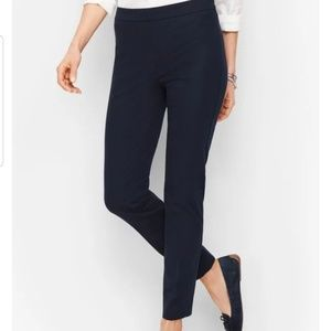 Talbots Chatam Flat Front Pants 6 Petite